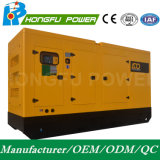 Eerste Diesel van de Macht 250kw/313kVA Geluiddichte Generator met de Motor van Shangchai Sdec