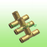 Accessori per tubi a tre vie della nuova di disegno dell'accoppiamento serratura rapida di slittamento