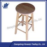 C100 новых лидеров продаж цельной древесины стул с круглыми стержнями