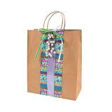 Custom продуктовый бумажный мешок для подарков (YH-PGB072)