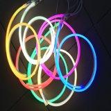 De LEIDENE van de Kleur van de Dekking RGB/White/Green/Red van het Lichaam van het Gel van Slicon Strook van het Neon