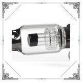 Vaso de precipitados de vidrio de color Electrogalvanized Gracia Matrix Perc Bowl Herb Pipas narguile Pipa de Agua