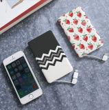 Portátil de la mejor tarjeta de crédito Banco de potencia de polímero de litio de 4000mAh para Smartphone
