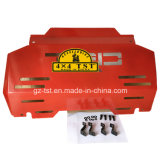 Protecção do motor da placa Bash deslizantes para Toyota Hilux Revo