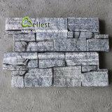 Природные реального серый цвет камня для шпона встать и камины
