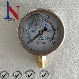 0.25MPaダイアル式の油圧ポンプのためのグリセリンによって満たされる圧力計