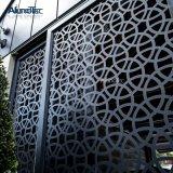 Mur rideau feuilles en aluminium panneaux en aluminium percé gravé de placage en aluminium