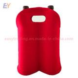 Custom высокое качество неопреновые 2 упаковка вина охладителя женская сумка для группы