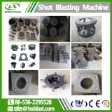 Piccolo tipo macchina della cinghia di caduta delle parti della bici di pulizia di scoppio della sabbia/macchina pallinatura dal fornitore di Weifang
