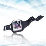 Lycra Armbinde-Wasser-beständige ultradünne Sport-Armbinde mit Schlüsselhalter-justierbare laufende Übungs-Stereoarmbinde für Handy