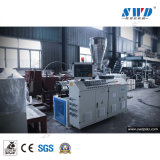 Línea de producción de extrusión de tubería de PVC plástico