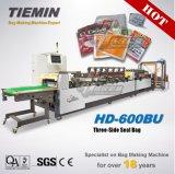 Sacchetto laterale della guarnizione HD-600bu di qualità tre ad alta velocità automatici di Tiemin che fa formazione del sigillamento del PLC del calcolatore della macchina che taglia prezzo di pacchetto laminato flessibile
