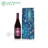 Envoltura de vino de Moda Tiendas de regalos bolsa de papel de embalaje con asa
