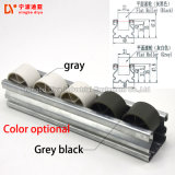 Débit de gris et noir pour système de rouleaux de transporteur à rouleaux en usine