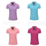 100% coton Pique Polo Shirt pour les femmes