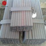 فولاذ يشرشر [فلت بر] لأنّ فولاذ حاجز مشبّك