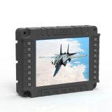 Monitor LCD incorporado quadrados, VGA/HDMI/entradas BNC, armação de metal reforçado