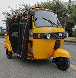 필리핀에 있는 판매를 위한 텔레비젼 임금 200cc Bajaj Tuktuk 인력거 가솔린 전송자 세발자전거