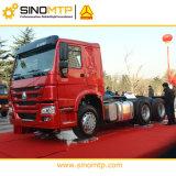Euro4 SINOTRUK HOWO 6X4 10の荷車引きのトラクターのトラック