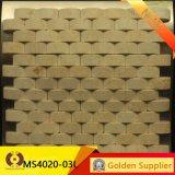 305*305mmの石造りのモザイクMableのモザイク(MS305-010)