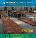 Vitrage PVC chinois+ASA/Ligne de production de tuiles en bambou