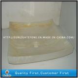 Boven de TegenGootsteen van de Was van het Onyx Groene Marmeren