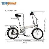 20 polegada 260W bicicleta eléctrica dobrável com marcação CE