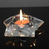 Portacandelitas Cristal simple para la decoración del hogar