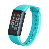 新しい流行の情報処理機能をもった防水スマートなスポーツの適性のブレスレットX6s Smartwatch