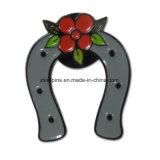 고품질 나비 클러치를 가진 연약한 사기질 접어젖힌 옷깃 Pin 기장