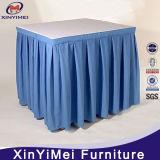 Luxuried는 물결이 일게했다 상보 아름다운 테이블 치마 (XYM-L66)를