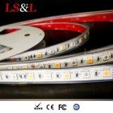 RGB LED+Amber Strip para decoração12/24DC V Marcação&RoHS impermeável
