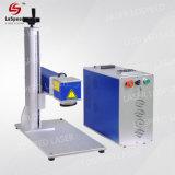 20W 30W 50W de fibra de marcadora láser de escritorio para el hardware las piezas de metal