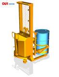 電気Tilter付きの位取り装備されていた半電気ドラム揚げべらは持ち上がる電池のドラムPourersを縦持ち上げ、手動回転Yl520A-1を渡す