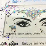 香港のトパーズの専門の皮の安全な目のステッカーボディは宝石で飾る表面Tattoのステッカー(E37)を