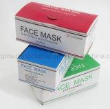 Предметов медицинского назначения Ce&Cfda сертифицированных хирургические маски спанбонд одноразовые 3ply маску для лица красочные