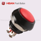 Automobile Modificationのための12mm Domed Momentary LED Push Button Switch