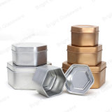 Voyage en métal hexagonale Tin Pot bougie