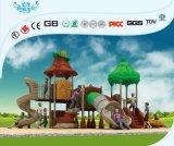 Faites glisser les enfants d'usine de plastique grand terrain de jeux extérieur