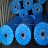 파란 색깔 브라질 폭 156cm/206cm170GSM PE 방수포