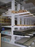 Cremalheira Cantilever de aço do armazenamento do armazém da Quente-Venda