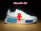 Бегунок Pk Addas Nmd первые ботинки красного клевера голубые идущие на размер 36-44 ботинок спортов людей и женщин