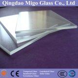 3.2mm personalizada bajo de hierro Toughened Paneles (ARC) vidrio solar