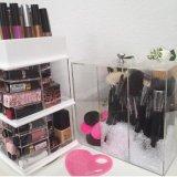 De grote Organisator van de Make-up van de Toren van de Lippenstift Acryl