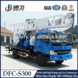 600m de perforación de plataforma de perforación de camiones