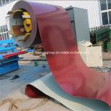 Máquina hidráulica de Decoiler sin el coche de bobina