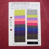 A cor cor-de-rosa Textured o couro de empacotamento decorativo gravado superfície do plutônio de Matt
