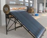 De vacuüm Verwarmer van het Roestvrij staal van de Buis Compacte Unpressurized Zonne