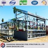 Sinoacmeは軽い鉄骨構造の小売りの小屋を組立て式に作った