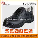 Черные ботинки безопасности Rh108 Split кожи